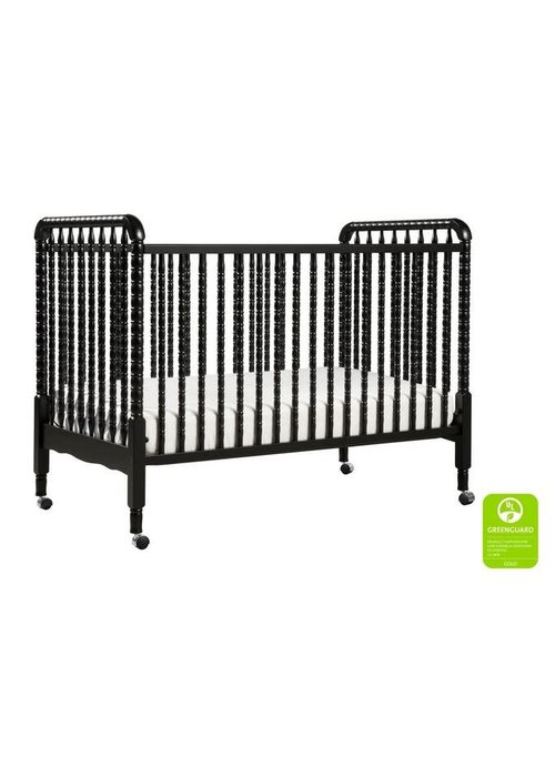 DaVinci Davinci Jenny Lind 3-in-1 Convertible Crib With Spindles In Ebony