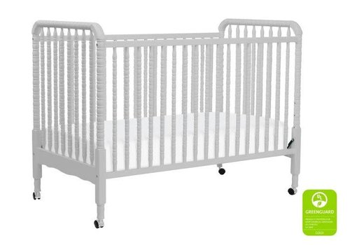 DaVinci Davinci Jenny Lind 3-in-1 Convertible Crib With Spindles In Fog Grey