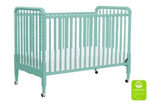 DaVinci Davinci Jenny Lind 3-in-1 Convertible Crib With Spindles In Lagoon