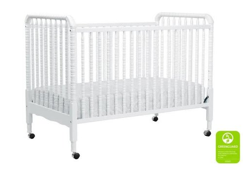 DaVinci Davinci Jenny Lind 3-in-1 Convertible Crib With Spindles In White