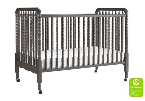 DaVinci Davinci Jenny Lind 3-in-1 Convertible Crib With Spindles In Slate