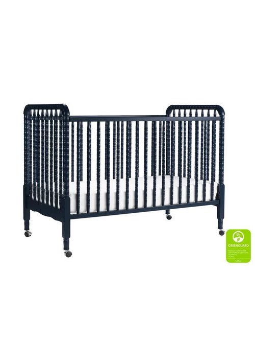 DaVinci Davinci Jenny Lind 3-in-1 Convertible Crib With Spindles In Navy
