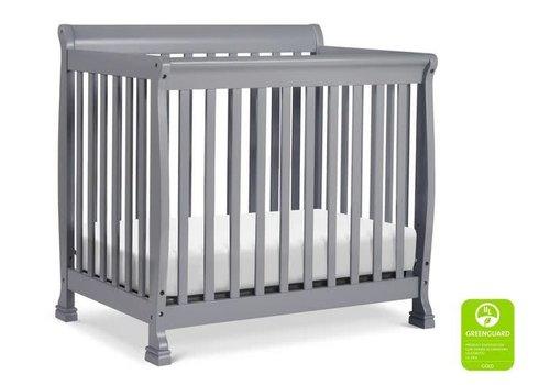 DaVinci Davinci Kalani 4-in-1 Convertible Mini Crib In Grey