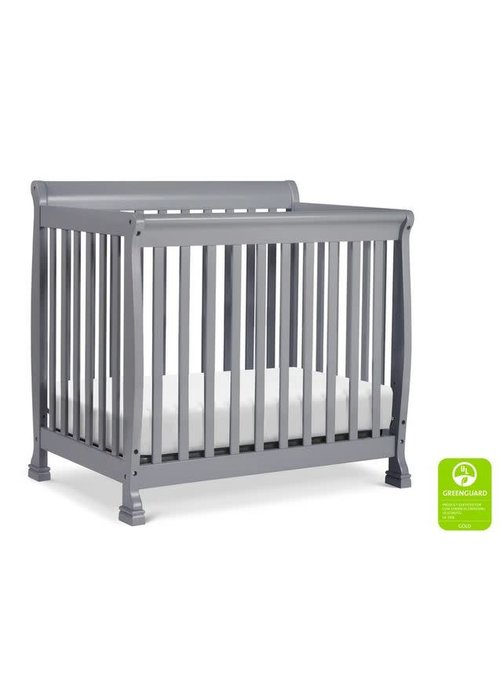 DaVinci Davinci Kalani 4-in-1 Convertible Mini Crib In Grey