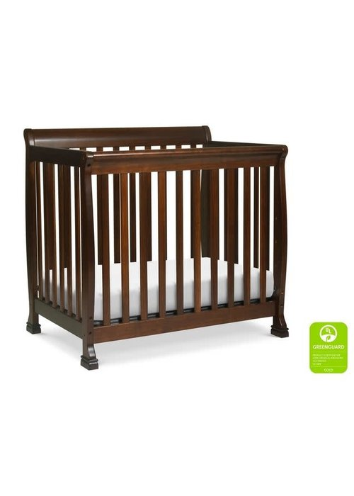 DaVinci Davinci Kalani 4-in-1 Convertible Mini Crib In Espresso