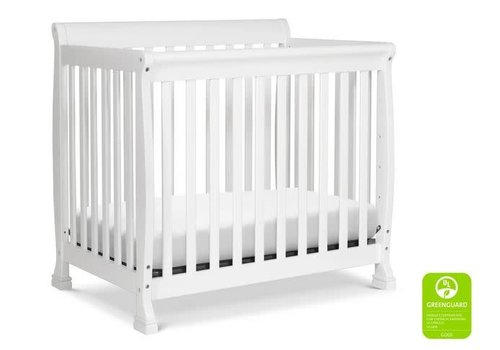 DaVinci Davinci Kalani 4-in-1 Convertible Mini Crib In White