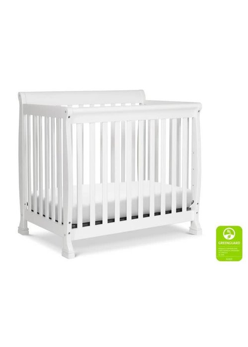 DaVinci Davinci Kalani 4-in-1 Convertible Mini Crib In White