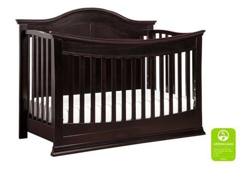 DaVinci Davinci Meadow 4-in-1 Convertible Crib With Toddler Bed Conversion Kit In Dark Java