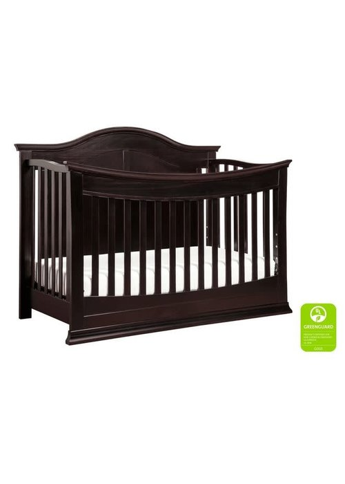 DaVinci Davinci Meadow 4-in-1 Convertible Crib With Toddler Bed Conversion Kit In Dark Java