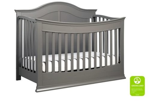 DaVinci Davinci Meadow 4-in-1 Convertible Crib With Toddler Bed Conversion Kit In Slate