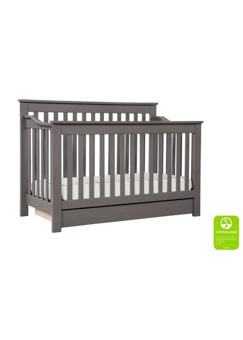 DaVinci Davinci Piedmont 4-In-1 Convertible Crib with Toddler Bed Conversion Kit In Slate