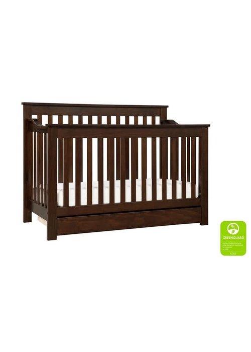 DaVinci Davinci Piedmont 4-In-1 Convertible Crib with Toddler Bed Conversion Kit In Espresso