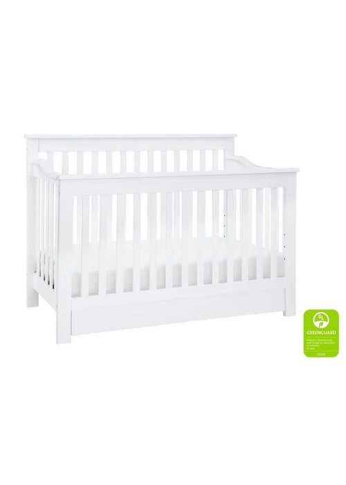 DaVinci Davinci Piedmont 4-In-1 Convertible Crib with Toddler Bed Conversion Kit In White