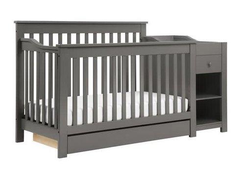 DaVinci Davinci Piedmont 4-in-1 Crib and Changer Combo In Slate