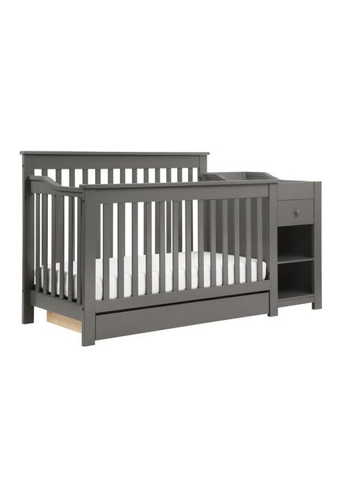 DaVinci Davinci Piedmont 4-in-1 Crib and Changer Combo In Slate