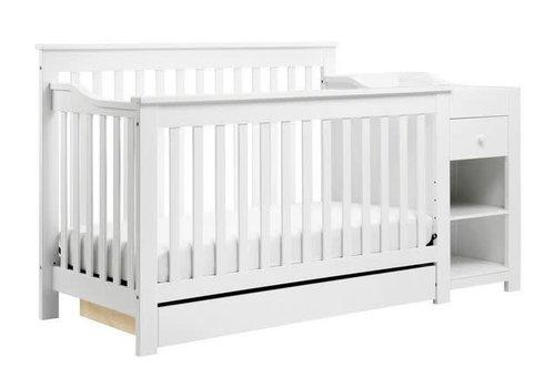 DaVinci Davinci Piedmont 4-in-1 Crib and Changer Combo In White