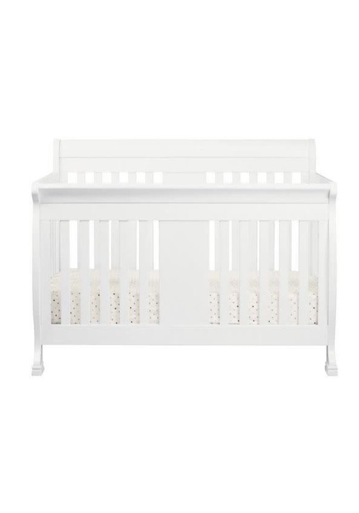 Davinci Porter 4-In-1 Convertible Crib With Toddler Bed Conversion Kit In White