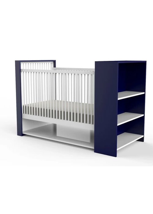 Duc Duc Duc Duc Aj Crib In Royal Blue