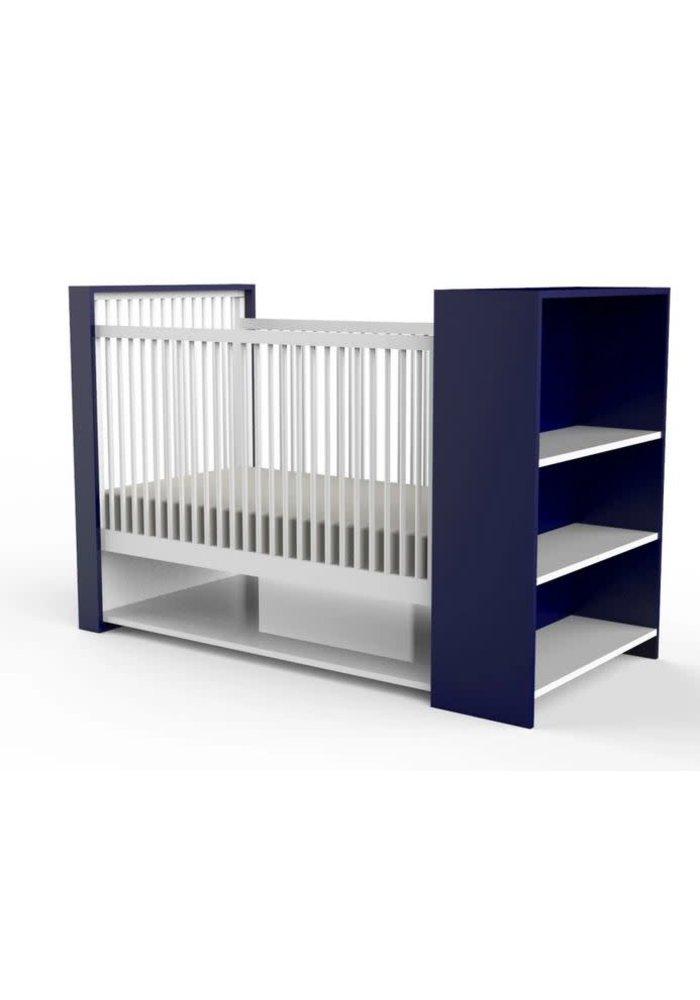 Duc Duc Aj Crib In Royal Blue