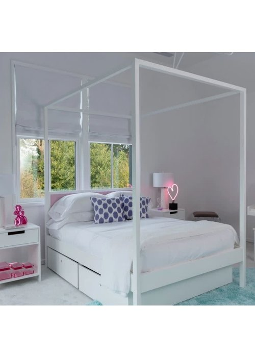 Duc Duc Duc Duc Cabana Canopy Bed (no footboard) (Quickship) Twin Size