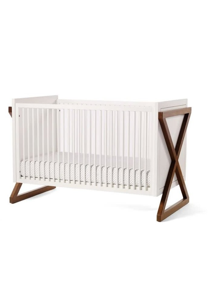 Duc Duc Campaign Crib In Natural Walnut