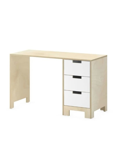 Duc Duc Duc Duc Juno Desk In Natural Birch