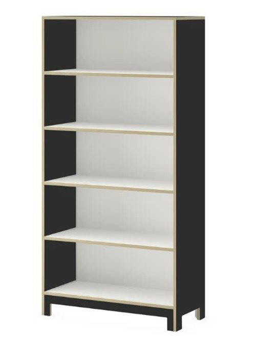 Duc Duc Duc Duc Juno Tall Bookcase In Onyx