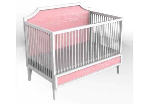 Duc Duc Duc Duc Litchfield Crib In White/Sweet 16 Cerused