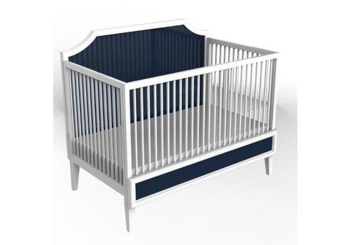 Duc Duc Duc Duc Litchfield Crib In White/Old Navy