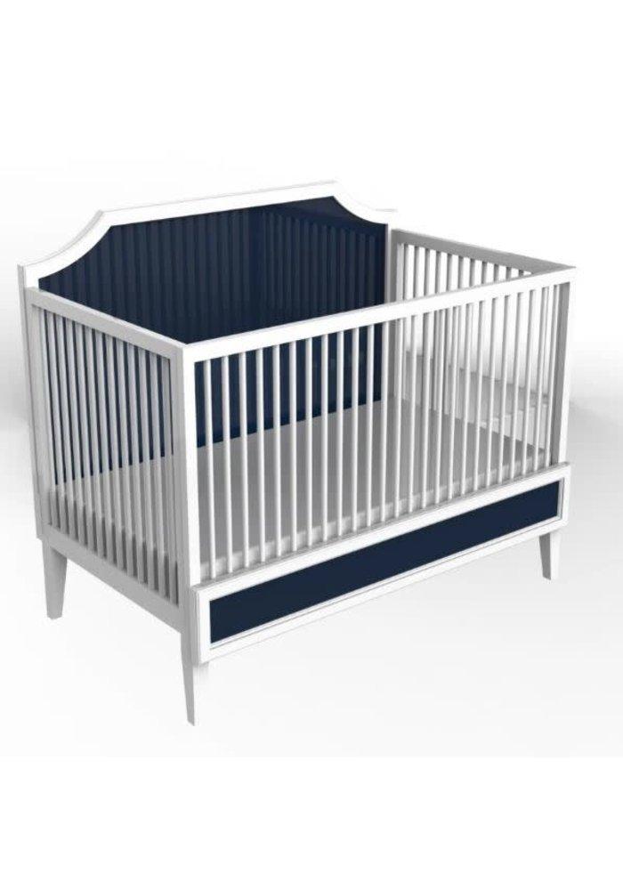 Duc Duc Litchfield Crib In White/Old Navy