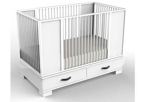 Duc Duc Duc Duc Morgan Crib In White