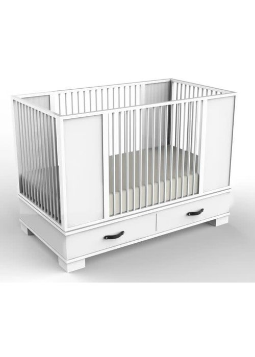Duc Duc Duc Duc Morgan Crib In White