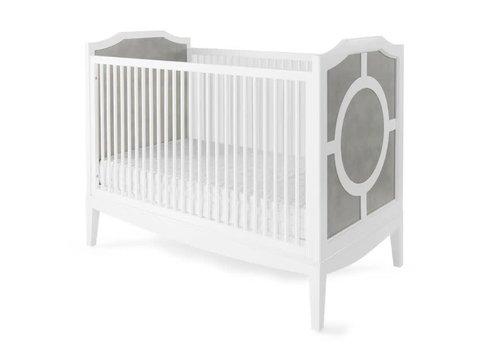 Duc Duc Duc Duc Regency Crib In Weathered