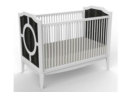 Duc Duc Duc Duc Regency Crib In Onyx Cerused