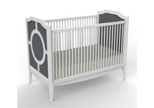 Duc Duc Duc Duc Regency Crib In Dark Grey