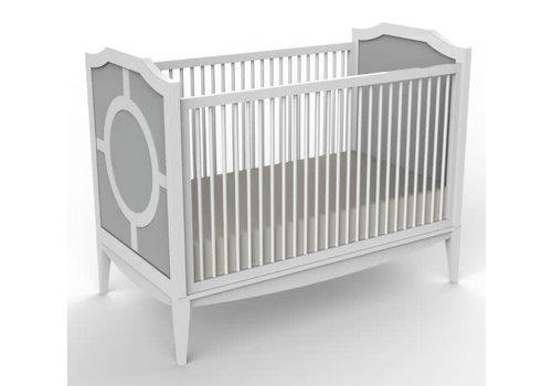 Duc Duc Duc Duc Regency Crib In Light Grey
