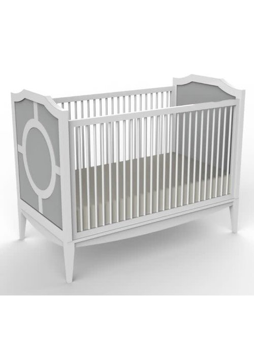 Duc Duc Duc Duc Regency Crib In Light Grey