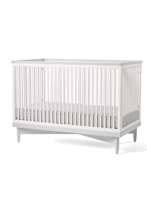 Duc Duc Duc Duc Soho Crib In White/Light Gray
