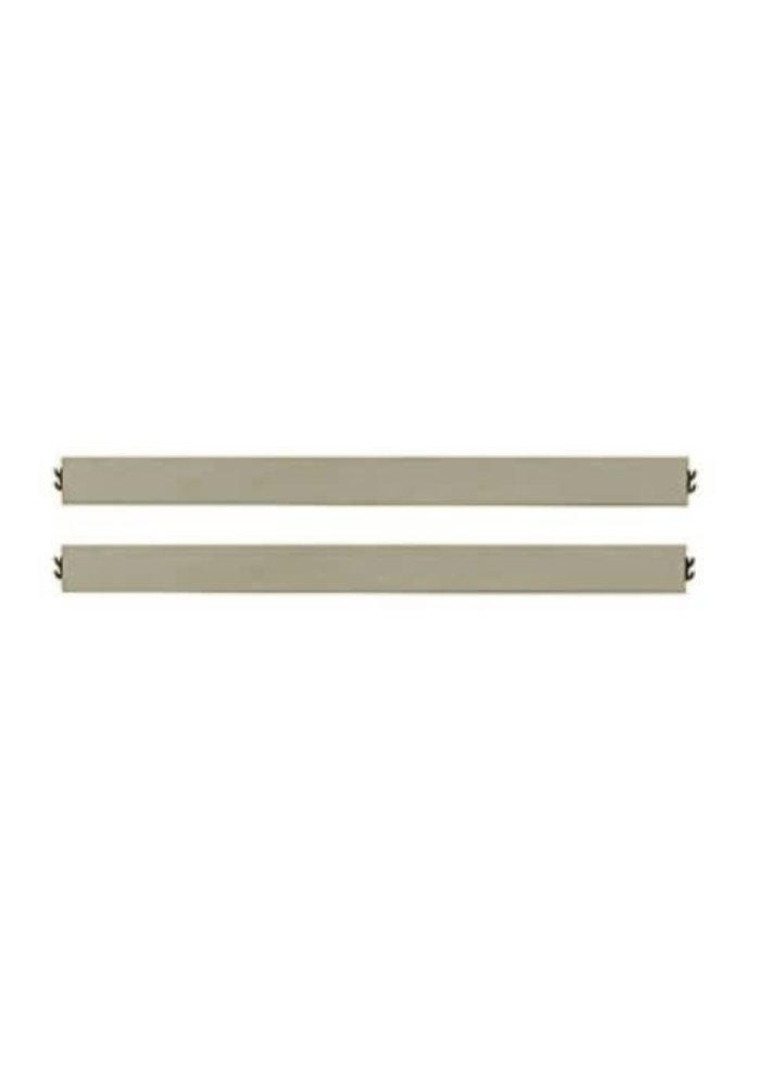 Evolur Baby Aurora Bed Rail In Metallic Gold Dust