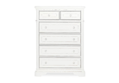 Evolur Baby Belle Tall Chest In Aged White