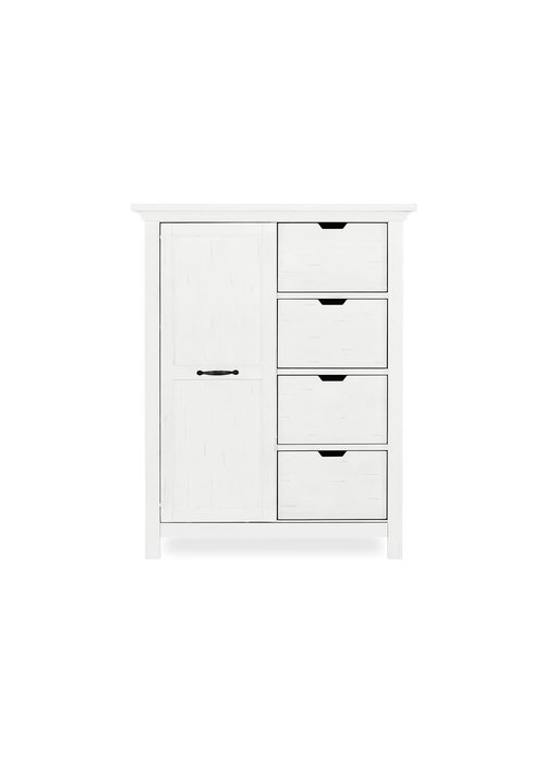 Evolur Baby Belmar Tall Chest In Weathered White