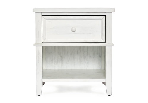 Evolur Baby Belmar Night Stand In Weathered White