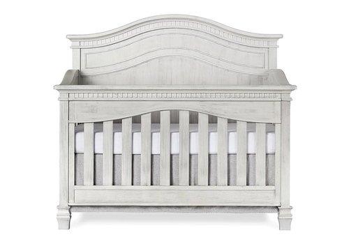 Evolur Baby Cheyenne 5-in-1 Full Panel Convertible Crib In Antique Mist