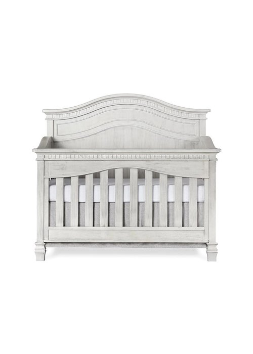 Evolur Baby Cheyenne 5-in-1 Full Panel Convertible Crib In Antique Mist