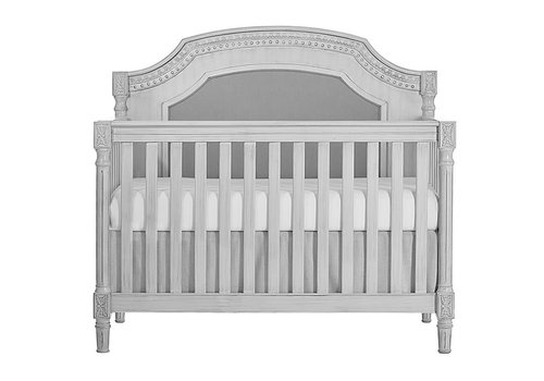 Evolur Baby Julienne 5-in-1 Convertible Crib In Antique Mist/Mystic Grey