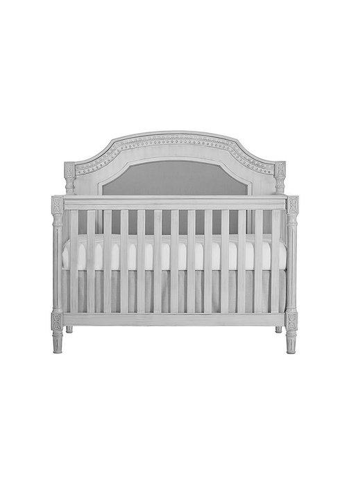 Evolur Baby Julienne 5-in-1 Convertible Crib In Antique Mist/Mystic Grey