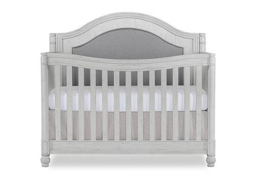Evolur Baby Kendal 5-in-1 Convertible Crib In Antique Grey Mist