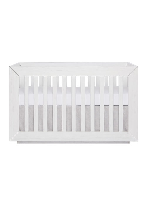Evolur Baby Maddox  3 In 1 Convertible Crib In Weathered White