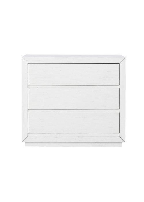 Evolur Baby Maddox 3 Drawer Dresser  In Weathered White