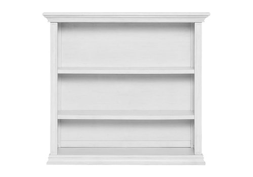 Evolur Baby Maddox Hutch/Bookcase In Weathered White